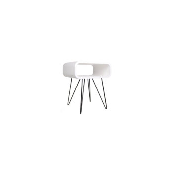 Metro End Table white