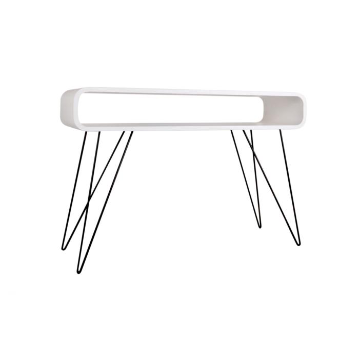 Metro Sofa Table white