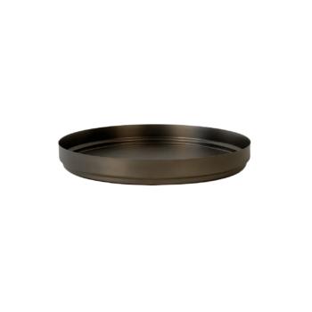 Rondo tray medium black