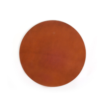 Ellis Placemat Round cognac