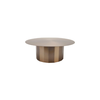 Doric Cake Stand soft copper