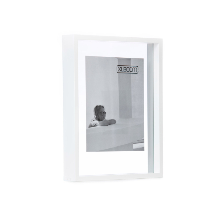 white Floating box 28x35.5