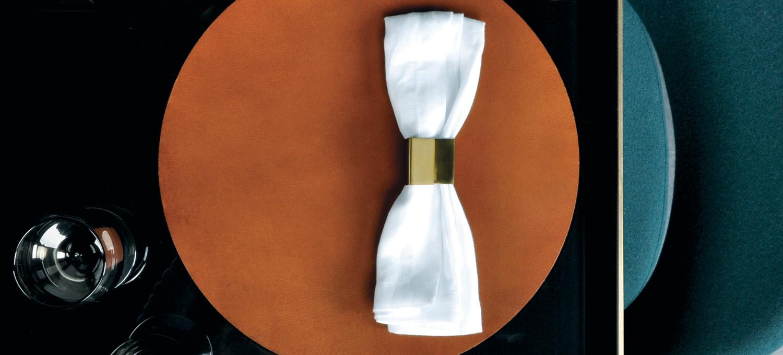 Ras Napkin Brass