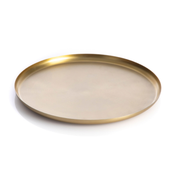 Bao tray medium brass