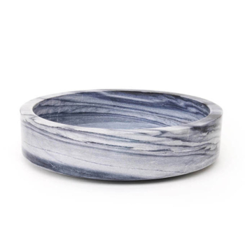 Forte 3 Marble Bowl grey