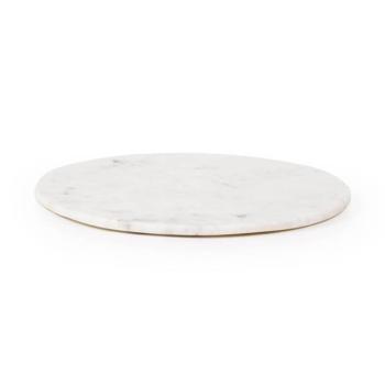 Max Round Medium Cutting Board white
