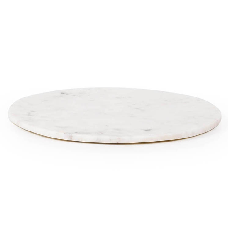 Max Round Large Cutting Board white