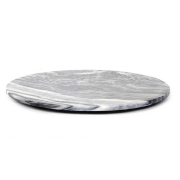 Max Round Large Cutting Board grey