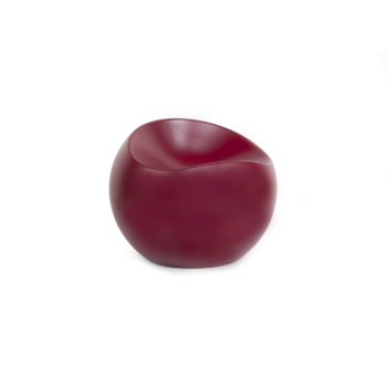 Burgundy Ball Chair