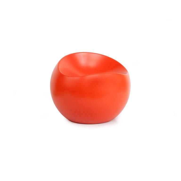 Tangarine Matt Ball Chair