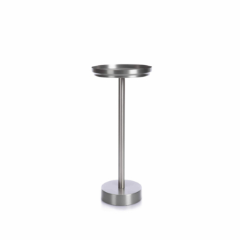 Rondo Tray Table pure stainless