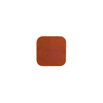 Ellis Coaster Square cognac