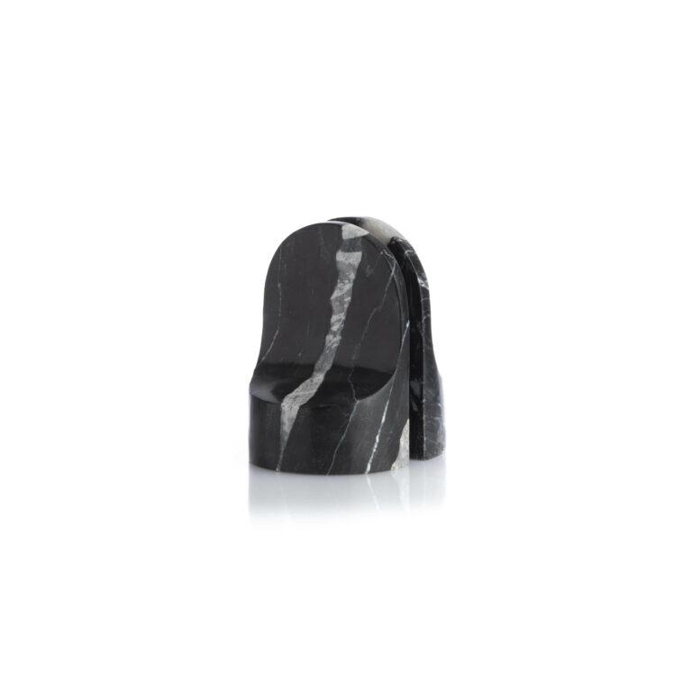 Emoji Book End black marble