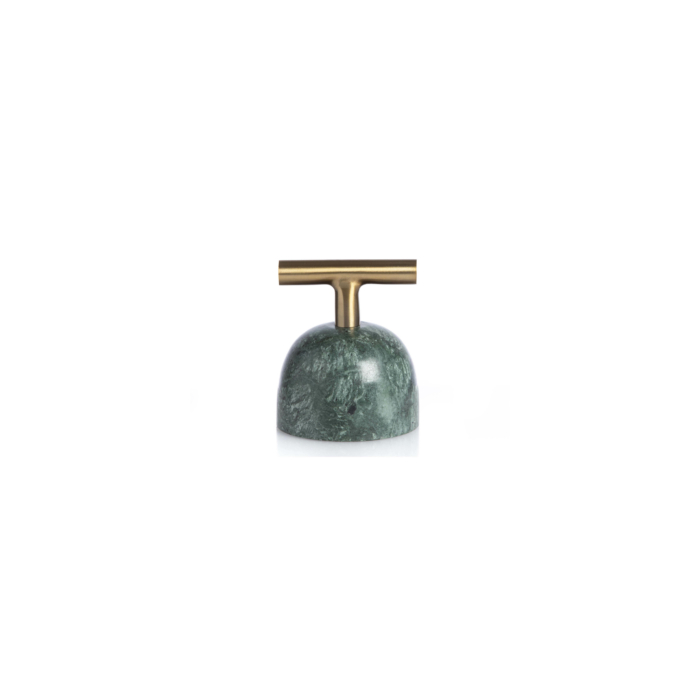 Green marble carry away paperweight