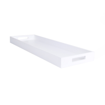 Zen Tray Extra Long white