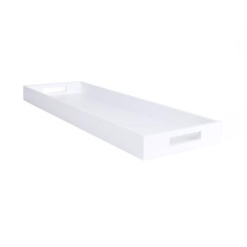 Zen Tray Extra Long white