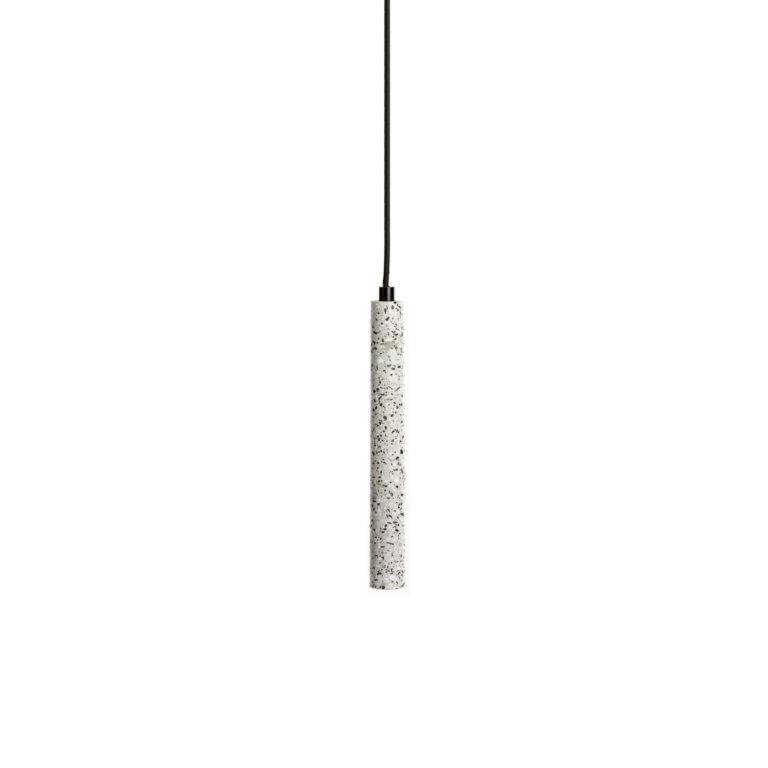 white Terrazzo Lamp Tube