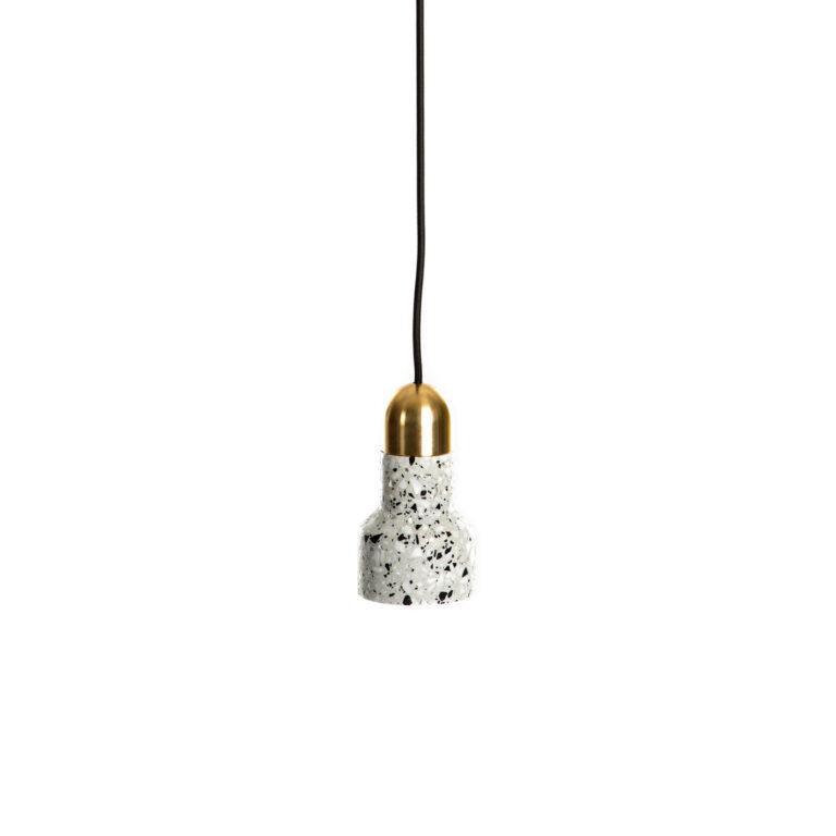 white Terrazzo Lamp Luxe