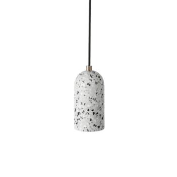 White Terrazzo U Lamp