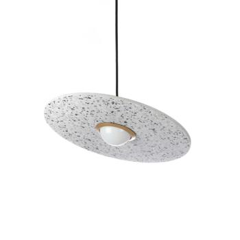 Terrazzo Planet white lamp