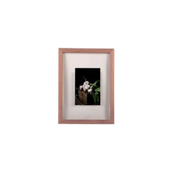 Window Frame 30x40 walnut wood