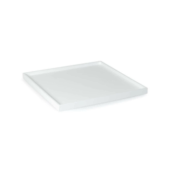 Low Tray Square Medium white