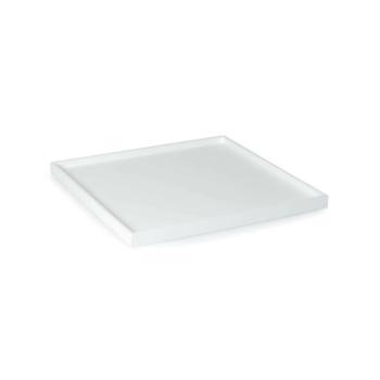 Low Tray Square Medium white