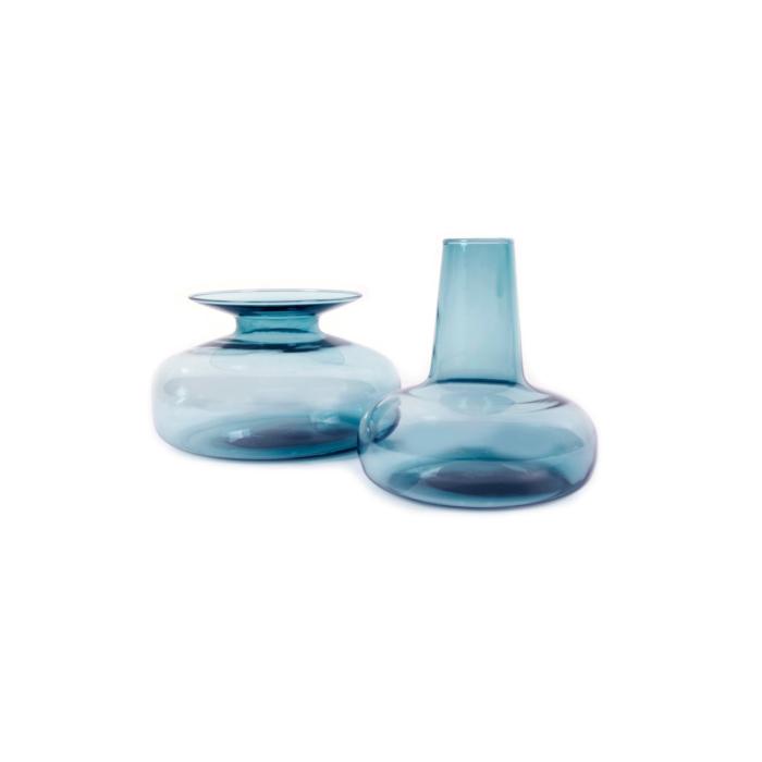 Host Duo Carafe/ Vase blue grey