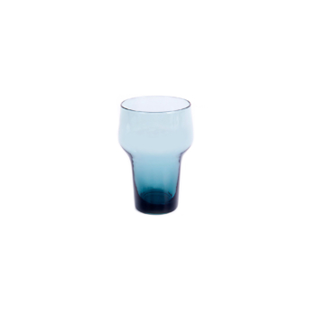 Host Glass medium blue grey