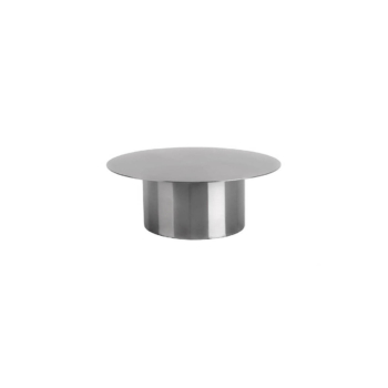 Doric Cake Stand pure stainless