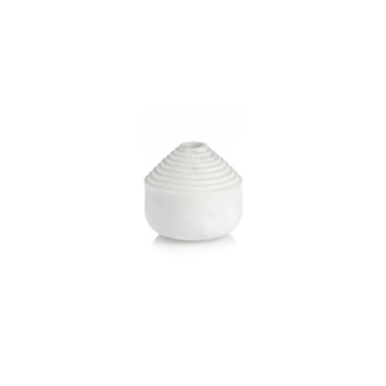 Laps candle holder white marble