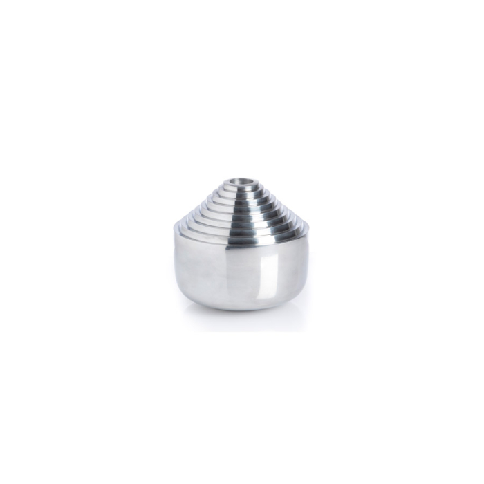 Laps candle holder silver
