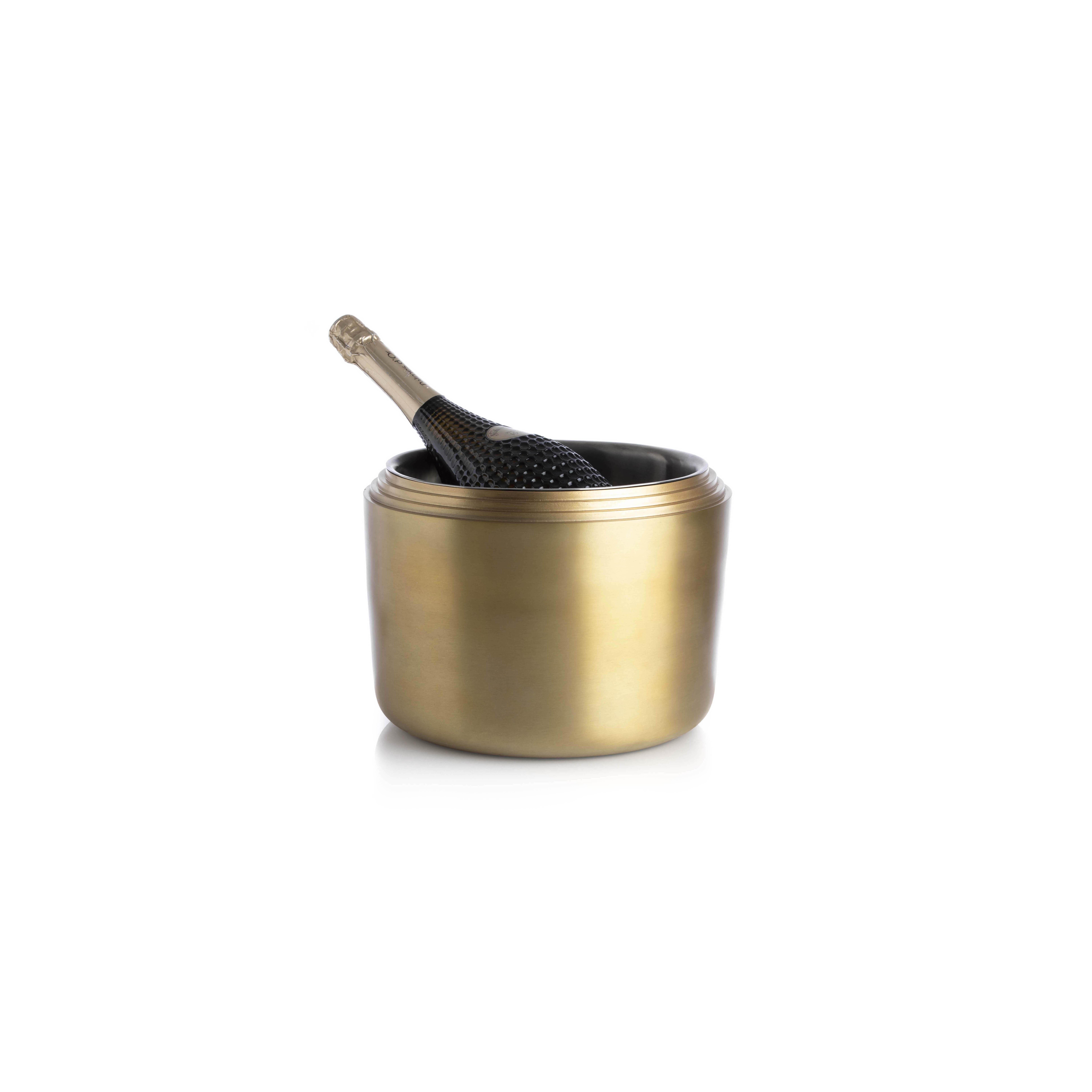 Laps Wine Bucket brass