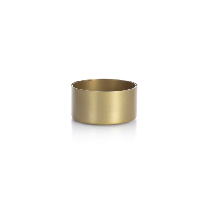 Noella Bowl medium matt brass
