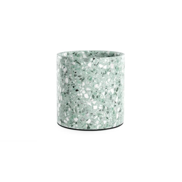 Terrazzo pot medium mint