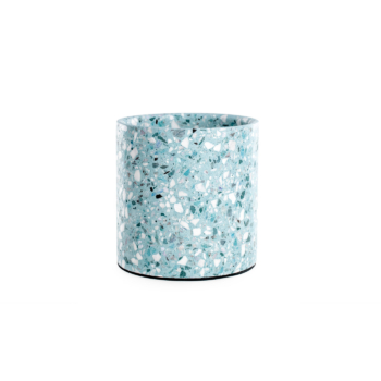 Terrazzo Medium Pot Blue