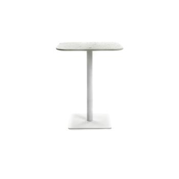 Terrazzo Table Square white