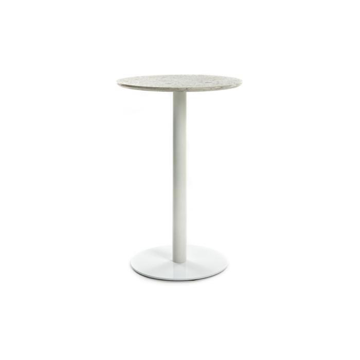 Terrazzo Table Round medium white
