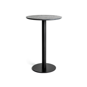 Terrazzo Table Round medium black