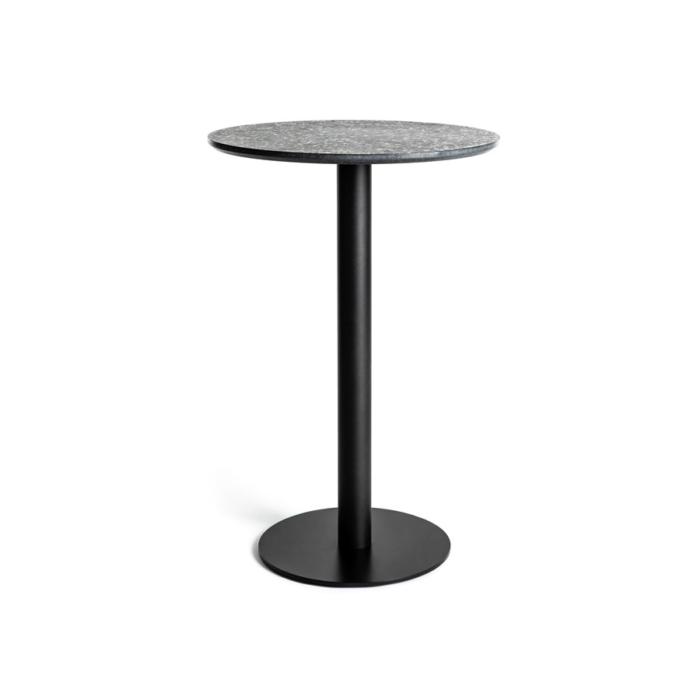 Terrazzo Table Round medium black