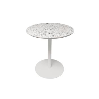 Terrazzo Table Round white