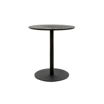 Terrazzo Table Round black