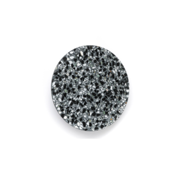 medium black Terrazzo Pin Wall Lamp