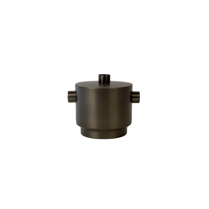 Rondo Ice bucket black/steel