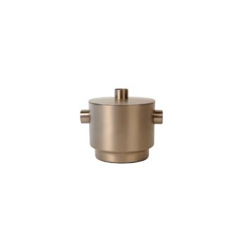 Rondo Ice bucket soft copper/steel