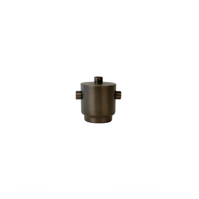 Rondo Ice bucket small black/steel