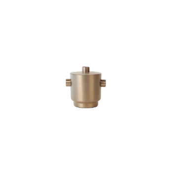 Rondo Ice bucket small soft copper/steel