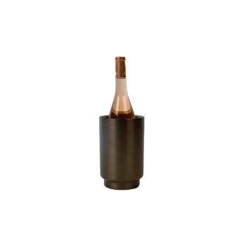 Rondo wine cooler black/stainless steel
