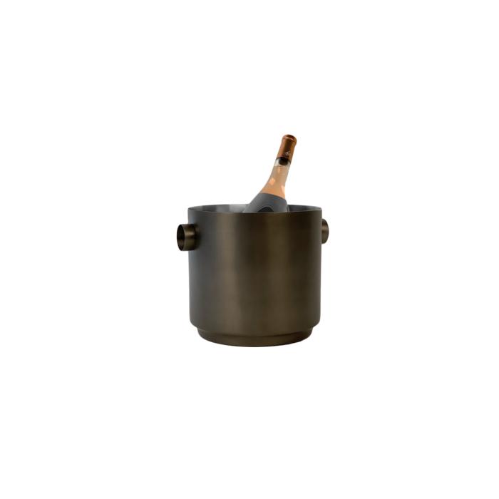 Rondo Wine Bucket Black/steel