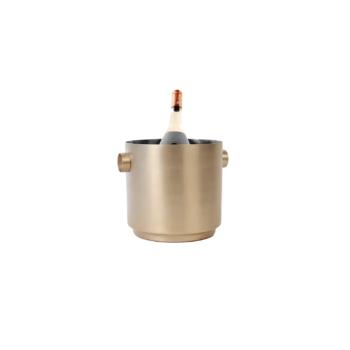 Rondo Wine Bucket Soft Copper/steel